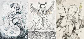 Fantasy Postcards 1