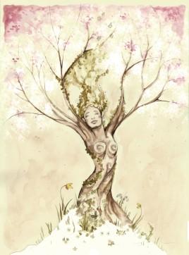Mother Nature Awakening - Spring