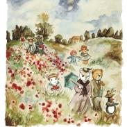 Poppies Teddy Bears